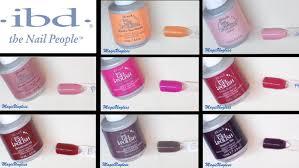 colores semipermanentes ibd parte1 gel polish ibd copilation