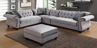 Gray Nailhead Sofa Grey Fabric Sofa With Nailhead Trim New 2018 2019 Sofakoe Info