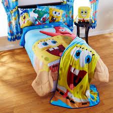 spongebob movie u0027mr awesome u0027 bedding sheet set walmart com