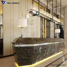 Hotel Reception Desk Led Hotel Reception Desk Restaurant Cash Counter Design Office