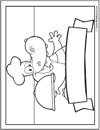 banner coloring pages alligator coloring pages print and customize