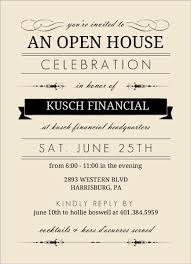 open house invitation corporate open house ideas