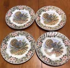 myott factory s thanksgiving turkey 10 dinner plate ebay