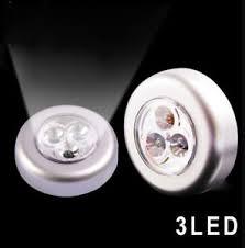 self stick led lights 1pc white stick click led push lights night light ls self