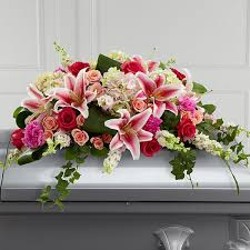 casket spray the ftd splendid grace casket spray
