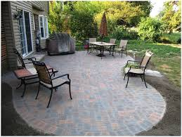Small Backyard Idea by Backyards Impressive Image Of Patio Paver Designs 4 Small