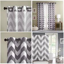 coffee tables red and white chevron curtains gray chevron