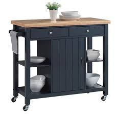 mobile kitchen island butcher block kitchen islands u0026 carts amazon com