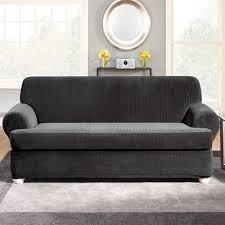 2 Piece T Cushion Loveseat Slipcover 2 Piece T Cushion Sofa Slipcovers Aecagra Org