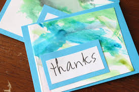 How To Make A Card Envelope - thank you card free making a thank you card thank you note