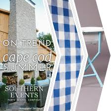 on trend cape cod summer southern events party rental company