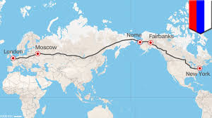 Map Of Alaska And Russia by Russia Superhighway Nyc To London By Car A Reality Or Pipedream