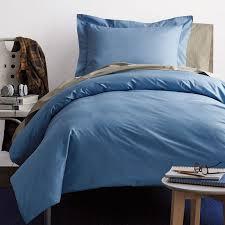 Porcelain Blue Duvet Cover Percale Duvet Covers The Company Store