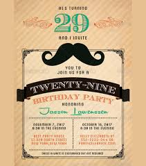 30 birthday invitations printable psd ai vector eps design