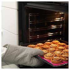 mönstrad oven baking mat pink 40x30 cm ikea