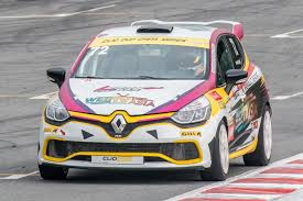 david lau broke the overall record in renault clio cup china