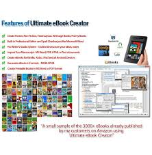 amazon com ultimate ebook creator ebook creation software mobi