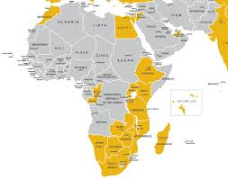 Map Of Egypt And Africa by Africa U0026 The Middle East Luxury Trips