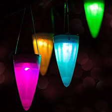 aglaia color changing solar lights outdoor pack of 6