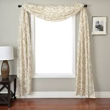 chf u0026 you peachskin kitchen curtains set of 2 or single valance