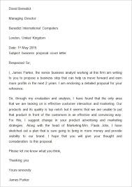 cover letter template word sle business cover letter business