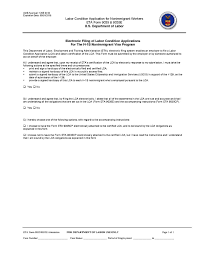 Certification Letter From Employer Labor Condition Application Wikipedia