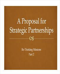 partnership proposal template pdf sample partnership proposal 15