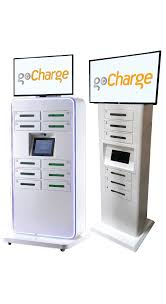 gocharge cell phone charging stations for rent lease u0026 sale
