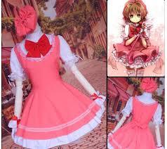 Sakura Halloween Costume Wholesale Sakura Card Captor Cosplay Costume Cat Cute