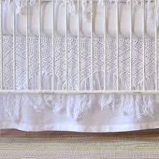 Matteo Crib Bedding Matteo Baby Bedding Vintage Linen Gathered Crib Skirt Bambini