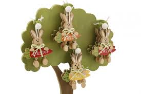 bunny decorations easter tree bunny hangers pack of 4