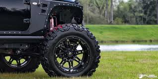 best wheels for jeep wrangler get hostile with this jeep wrangler on fuel wheels