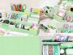 Craft Desk Organizer Korean Desk Organizer Craft Design Scribbles