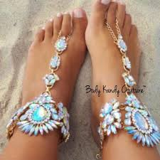 barefoot sandals for wedding buy django wedding barefoot sandals at kandy couture