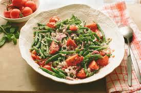 picnic tomato and green bean salad recipes backyard farms