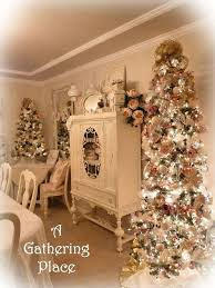 Shabby Chic Christmas Tree by 430 Best Christmas Shabby Chic Images On Pinterest Shabby Chic