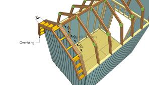 building a gambrel roof how to build a gambrel roof shed howtospecialist how to build