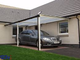 Carport Designs Plans Cream Wall House With Lean To Carport Can Be Combined With Brown