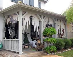 image of scary halloween house decorating ideas pictures outside
