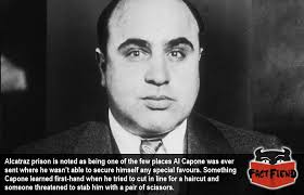 how much for a prison haircut al capone was stabbed in prison over a haircut fact fiend