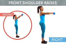 Front Of The Shoulder - 10 workout you re probably doing and how to fix them