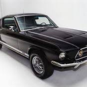 1967 Black Mustang Classic 1967 Mustang Fastback A Code Gt 4 Speed Raven Black 289 4v