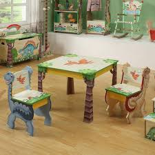 Teamson Kids Dinosaur Kingdom Childrens Chairs Set Of  Note - Kids dinosaur room
