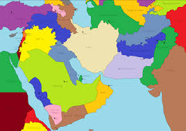 Middle East Countries Map by Imaginarymaps Sunday Contest Peace In The Middle East Imaginarymaps