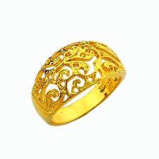 gold rings women images Buy women crystal jewelry simple engagement rings jpg