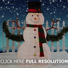 Abominable Snowman Outdoor Christmas Decorations by Light Up Snowman Outdoor Decoration Sacharoff Decoration