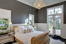 Guest Bedroom Color Ideas Mirrored Nightstand And Unique Wooden Bed For Guest Bedroom