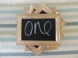 silver frames for wedding table numbers gold silver or copper distressed chalkboard frames table numbers