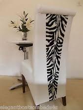 Zebra Dining Chairs Zebra Print Chair Ebay