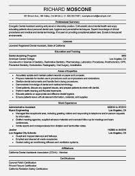 Dental Assistant Resume Templates Amazing Dental Assistant Resume Samples U2013 Resume Template For Free